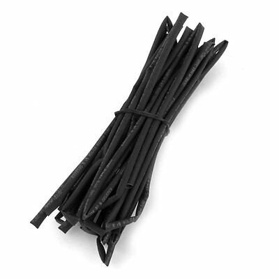 2.5mm Dia. Black Heat Shrinkable Tube Shrink Tubing 5m 16.4ft Lw