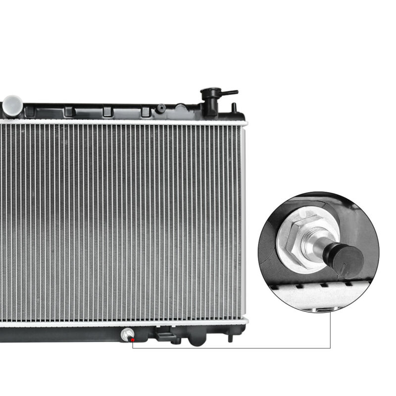 2414 Radiator For Nissan Altima 2002-2006 2.5 L4 Only Fans