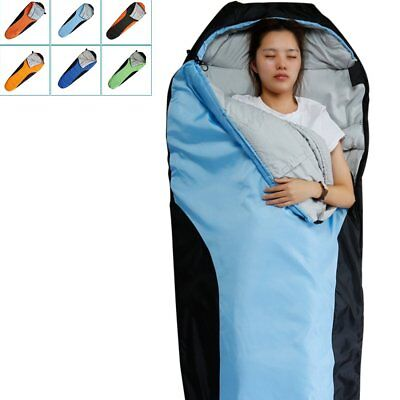Camping & Hiking Windtour Winter Warm Cotton Outdoor Hiking Camping Sleeping Bag Camp Sleeping Gears Sleeping Bags Utmost In Convenience