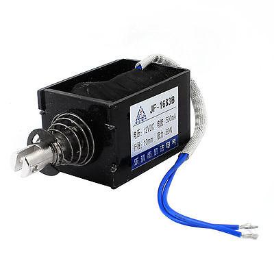 Dc 12v 0.5a 10mm Stroke 8kg Force Push Pull Type Solenoid Electromagnet Jf-1683b
