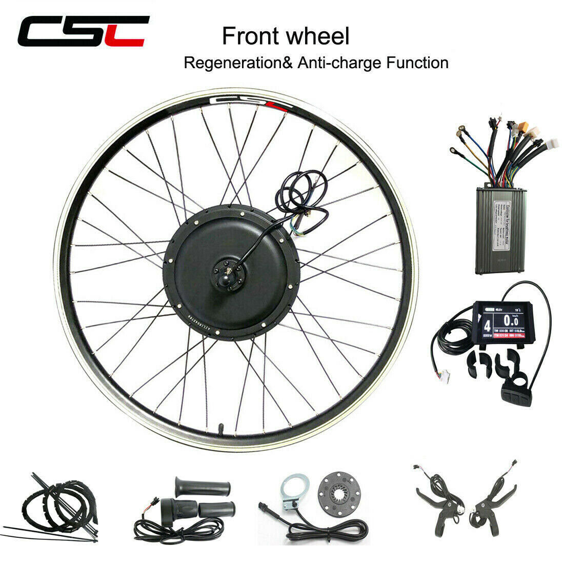 electric front conversion motor kit 250w 1000w
