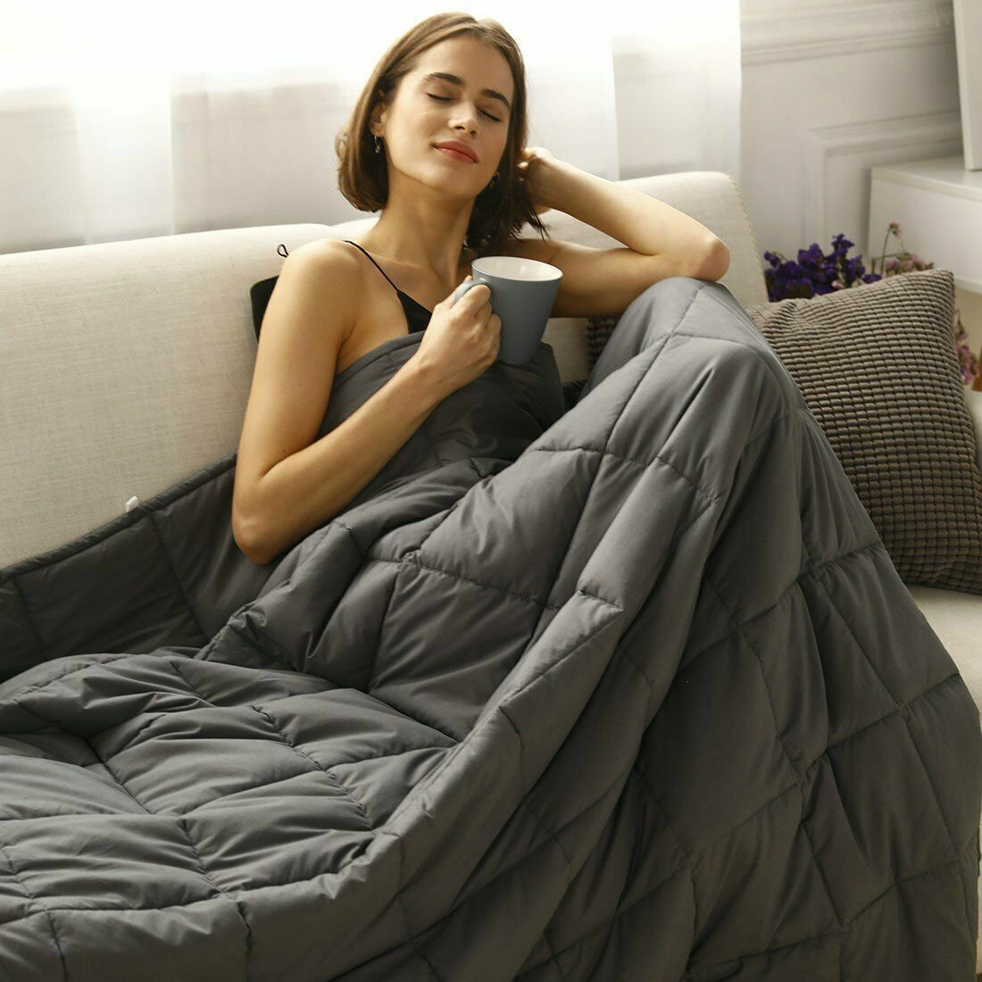 Weighted Blanket -  King Size Mattress Enjoy Quality Sleep