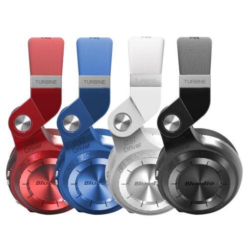 Headphones - Bluedio T2S Bluetooth4.1  Headphones Wireless Stereo Microphone Foldable Headset