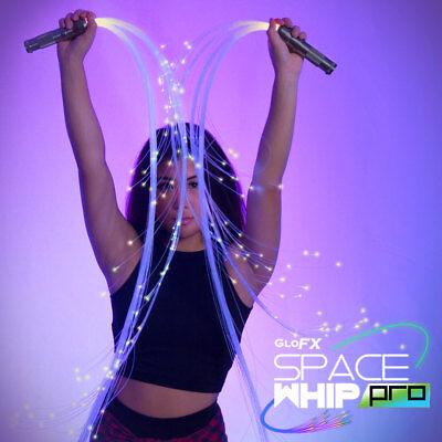 Space Whip Pro - LED Fiber Optic Whip Great w/ Flow Toys Rave Lights Poi EDM USA