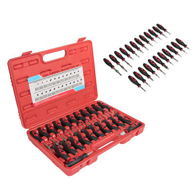 Automotive Wire Crimp Electrical Connector Removal Terminal Release Tool Kit Set