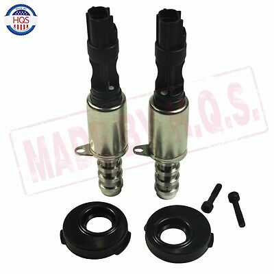 Pair Variable Camshaft Timing Solenoid VCT w/ Seal  For 2004-2008 Ford 5.4L 3V