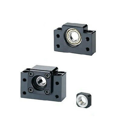 1pcs Bk17 Bf17 2505 Ballscrew End Support Cnc Parts Bearing Mount For Sfu2505