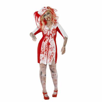 Plus Size Zombie Nurse Costume Adult Halloween Fancy - Plus Size Zombie Kostüme