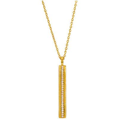 Gorjana Nia Shimmer Bar Pendant Gold Necklace 19611102G