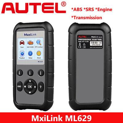 Autel ML629 Auto Diagnostic Tool Code Reader OBD2 Scanner Better AL619 As MD802