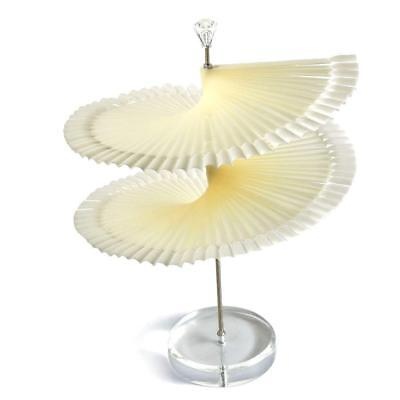 Shapes Chart (120pcs Spiral Fan Shape Display Stand for False White Nail Tip Stick Color)