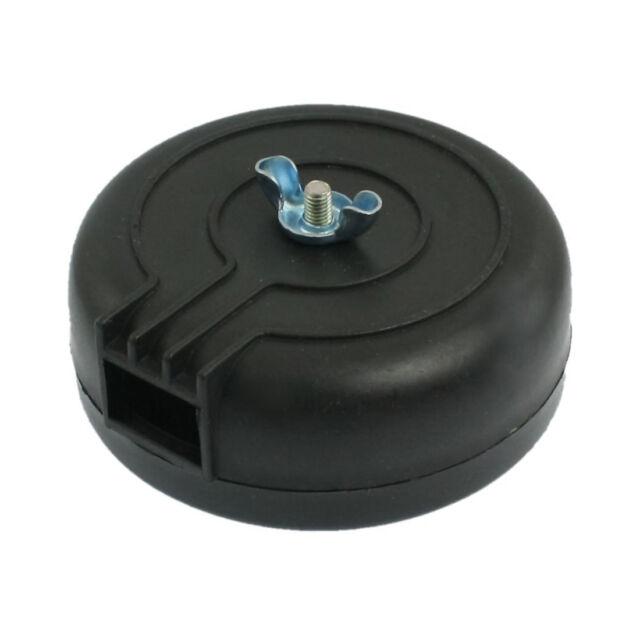 PT 1/2, male, black plastic compressor air filter V4P6