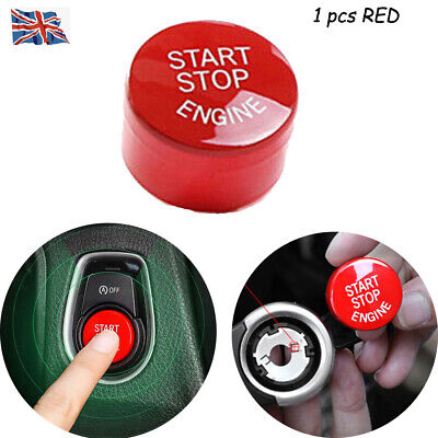 For All The BMW F Chassis Engine Switch Red Button With Auto StartStop Function
