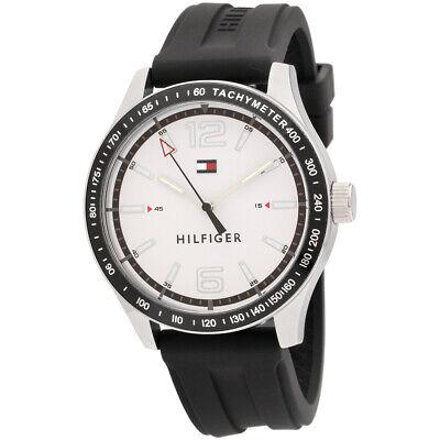 Tommy Hilfiger Sport Quartz Movement White Dial Men's Watch 1791437