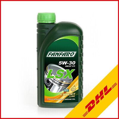1L FANFARO LSX 5W-30 API SN/CF Motoröl Öl Vollsynthetisch Oil