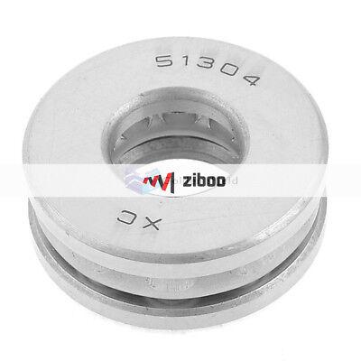 51304 Auto 22mm X 46mm X 18mm Carbon Steel Axial Thrust Ball Bearing