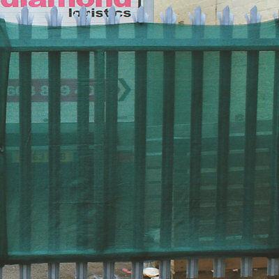 80% Shade Netting Windbreak Fabric Privacy Sceening Garden Net, Green 1m x 25m