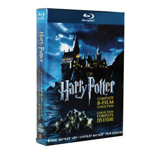 NEW Harry Potter Complete 1-8 Movie DVD Collection Films Box Set UK Seller