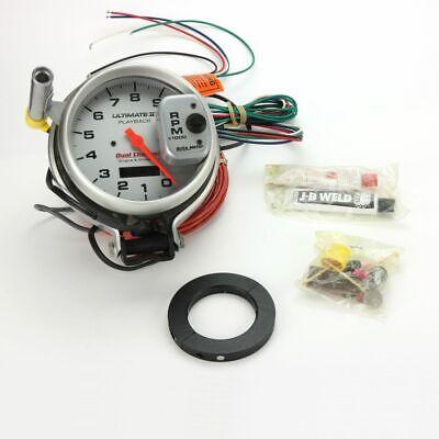 Auto Meter 6884 Ultimate II Playback Tachometer, Racing