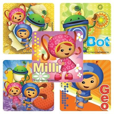 20 Team Umizoomi STICKERS Party Favors Supplies Teacher Treat Bags Birthday - Umizoomi Party Supplies