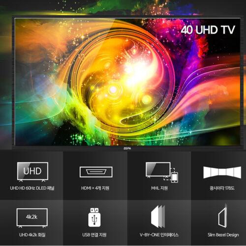 "New 40"" DLT ZE40DUHT Real UHD TV HDMI 60Hz 4K 3840x2160 LED TV Monitor"
