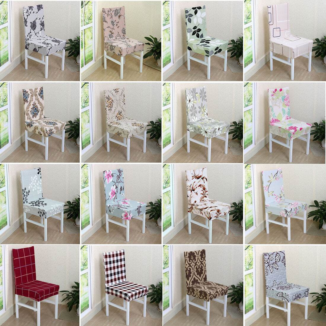 Dining Room Wedding Banquet Chair Cover Party Decor Seat Cov