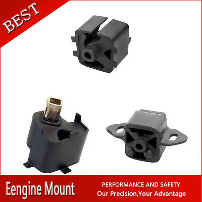 Westar-Manual Trans & Engine Motor Mount Set 3X For 1984-1988 600 2.2L