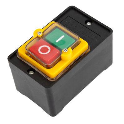 Einaus Druckknopf Schalter, Wasserfest, 10a 380v Wechselstrom