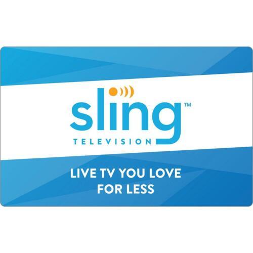 Slingtv orange&blue | ✔️ 3 Years Waranty✔️Instant Delivery|LIMITED OFFER