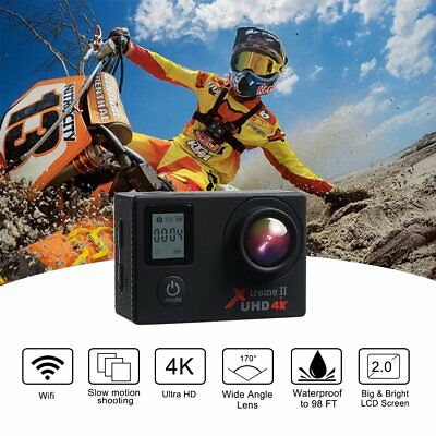 Campark ACT76 Action Cam 4K WIFI 16MP Ultra HD Sport Action Camera con Dual S...