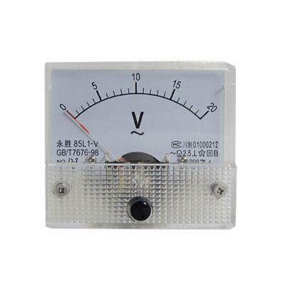 85l1-v Ac 0-20v Analog Voltmeter Panel Meter Voltage O4n3