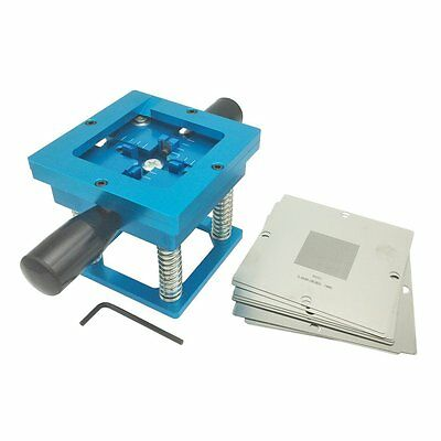 90mm Bga Reball Rework Station W56pcs Commonly Used Reballing Stencils Kit