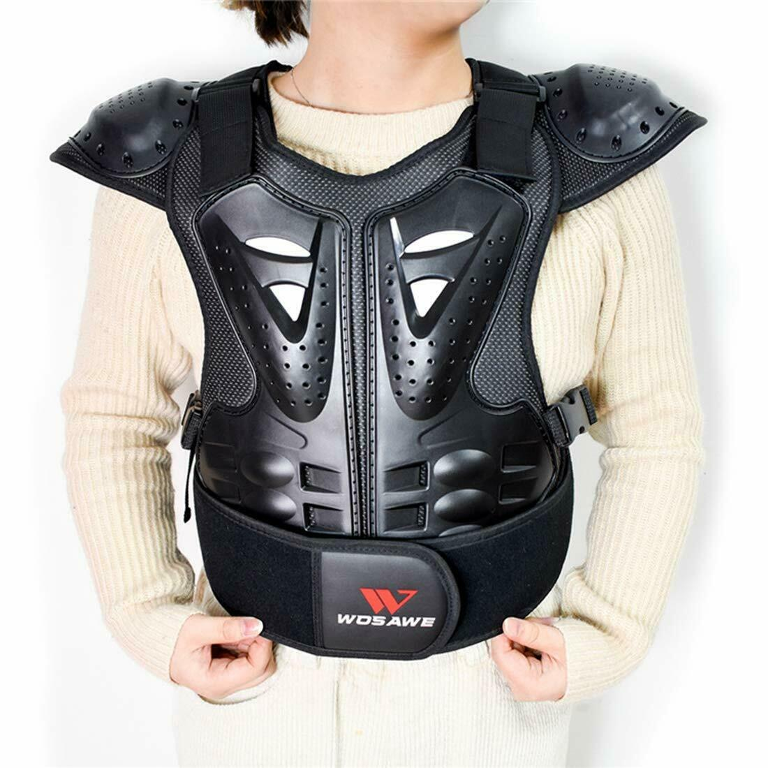 Kids Bike Racing Riding Motorcycle Vest Chest Protector ATV MX Body Guard Armor