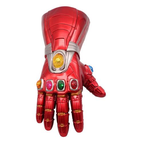 как выглядит ThIron Man LED Gloves Thanos Infinity Gauntlet Avengers Endgame Stone Removable фото