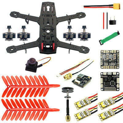 JMT 250 DIY FPV Quadcopter Camera Drone Kit Pro-30A ESC 700TVL Camera