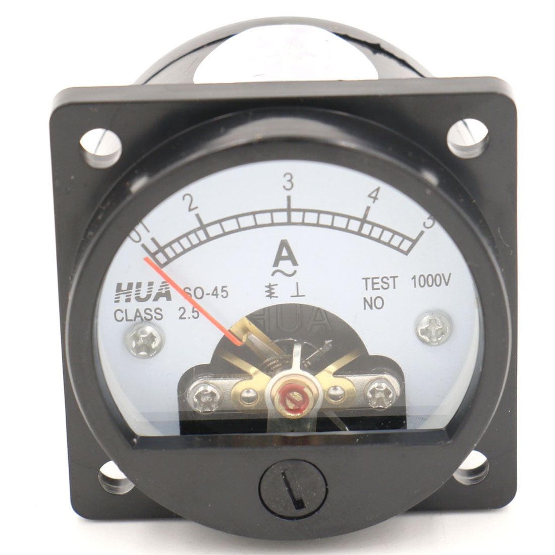 Round Analog Panel Meters : Ammeter so class accuracy ac a round analog