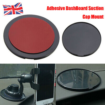 Car Dash Dashboard Adhesive Sticky Suction Cup Mount GPS Phone Disc Disk Pad