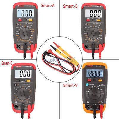Digital Lcd Multimeter Current Voltmeter Volt Resistance Ohm Tester Meter Acdc