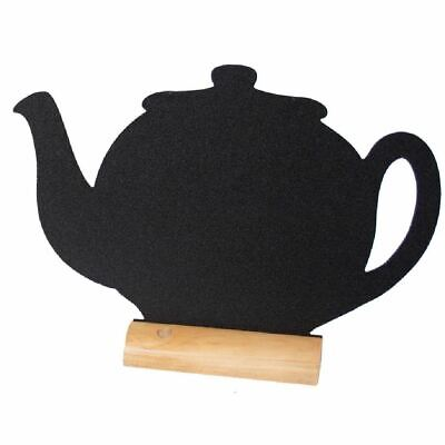Securit Mini Table Board Teapot Shaped With Writing Surface 100x130mm Pack Of 3