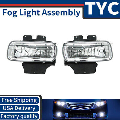 TYC 2X Left + Right Fog Light Lamp Assembly Replacement For 2004-2006 Ford F-150