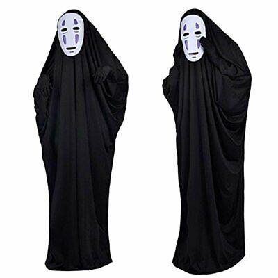 Studio Ghibli Spirited Auswärts Kaonashi Cosplay Kostüm Halloween S-XL von Japan