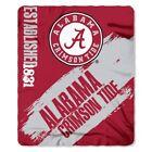 Alabama Crimson Tide Sports Fan Blankets without Modified Item