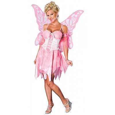 Rubies Costume's Women's NLP Sugar Plum Fairy Pink With Wings Item 888458 - Sugar Plum Fairy Dress