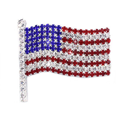 Deal Of Th Day (4th of July USA American Flag Patriotic Spirit Brooch Pin Independence Day)