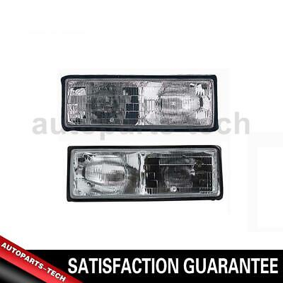 2x TYC Left Right Headlight Assembly For Chevrolet Caprice 1987~1990 1990 Chevrolet Caprice Headlight