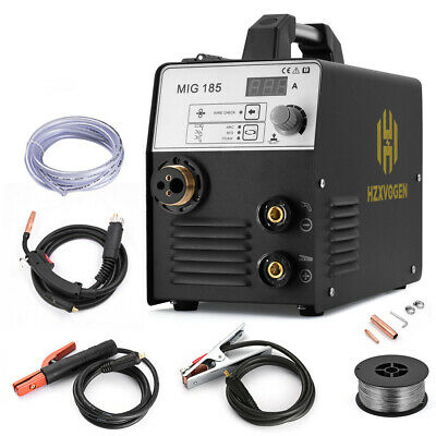 Hzxvogen 3in1 180a Mig Welder 220v Mig Arc Lift Tig Welding Machine Gas Gasless