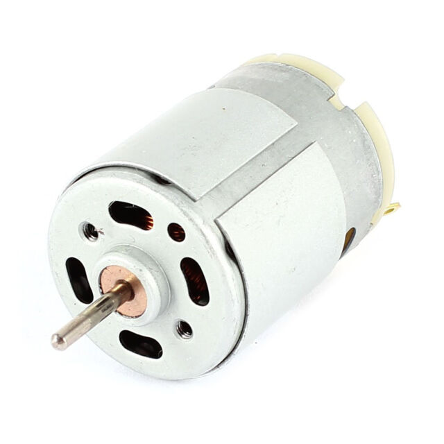 RS380 DC 1.5-18V 30000RPM Micro Motor 38x28mm for RC Model Toys DIY, Silver SP