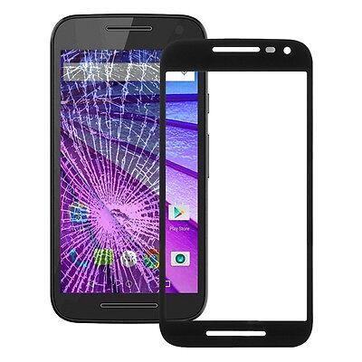 Motorola Moto G 3. Gen. Display Glas Austausch Front Ersatz Touch Screen schwarz Motorola Screen 3