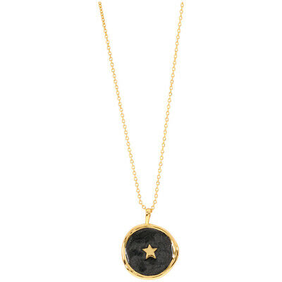 Gorjana Star Coin Two Tone 18.5 inches Necklace 193-108-229-G