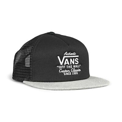 Vans Galer Trucker Hat - Black / Heather Grey
